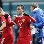 Гол Оздоева помог России вырвать победу у Румынии
